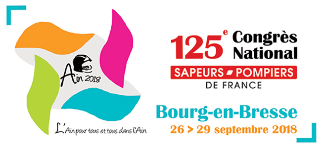 Logo Congrès national Bourg-en-Bresse 2018
